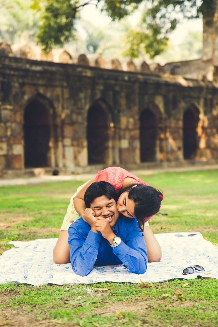 Candid moments outside the ancient fort by PictureTree Wedding-photography | Weddings Photos & Ideas