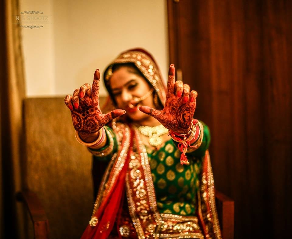 Ready to direct the story of her life by NG Shootz Wedding-photography | Weddings Photos & Ideas