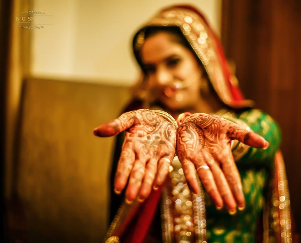 The brides lovely mehandi for the special day by NG Shootz Wedding-photography | Weddings Photos & Ideas