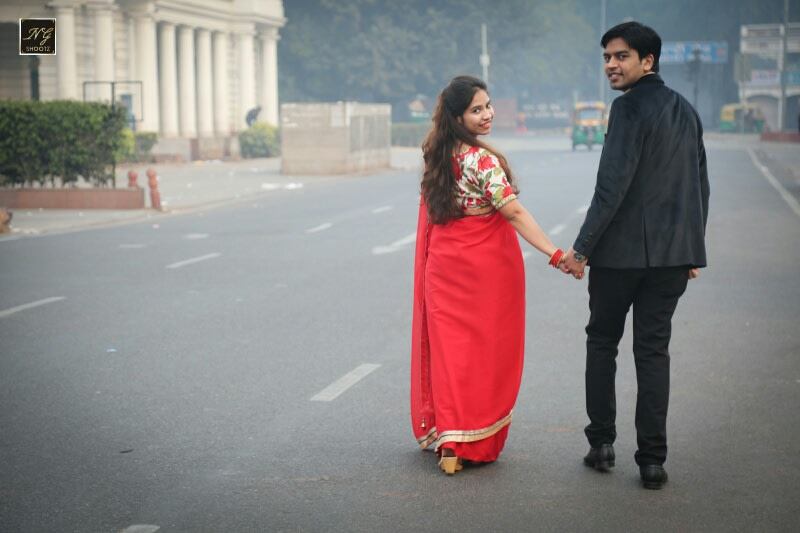 Walking hand in hand in the capital by NG Shootz Wedding-photography | Weddings Photos & Ideas