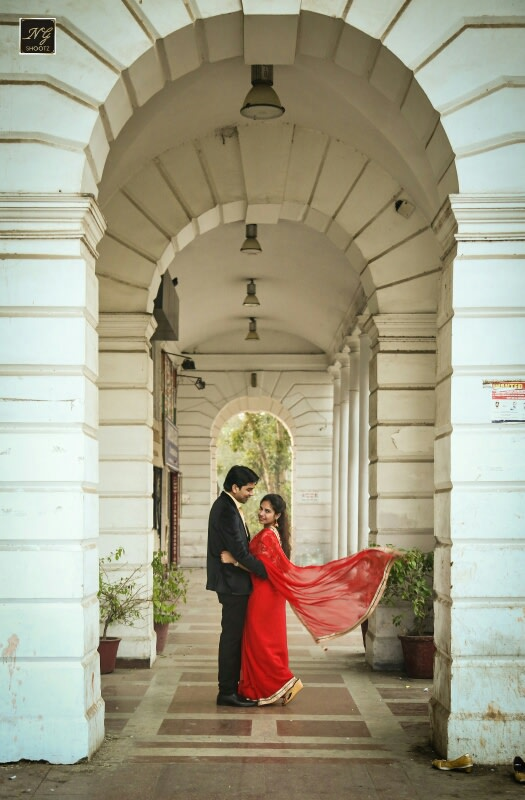 The love birds walking hand in hand in the heart of delhi by NG Shootz Wedding-photography | Weddings Photos & Ideas