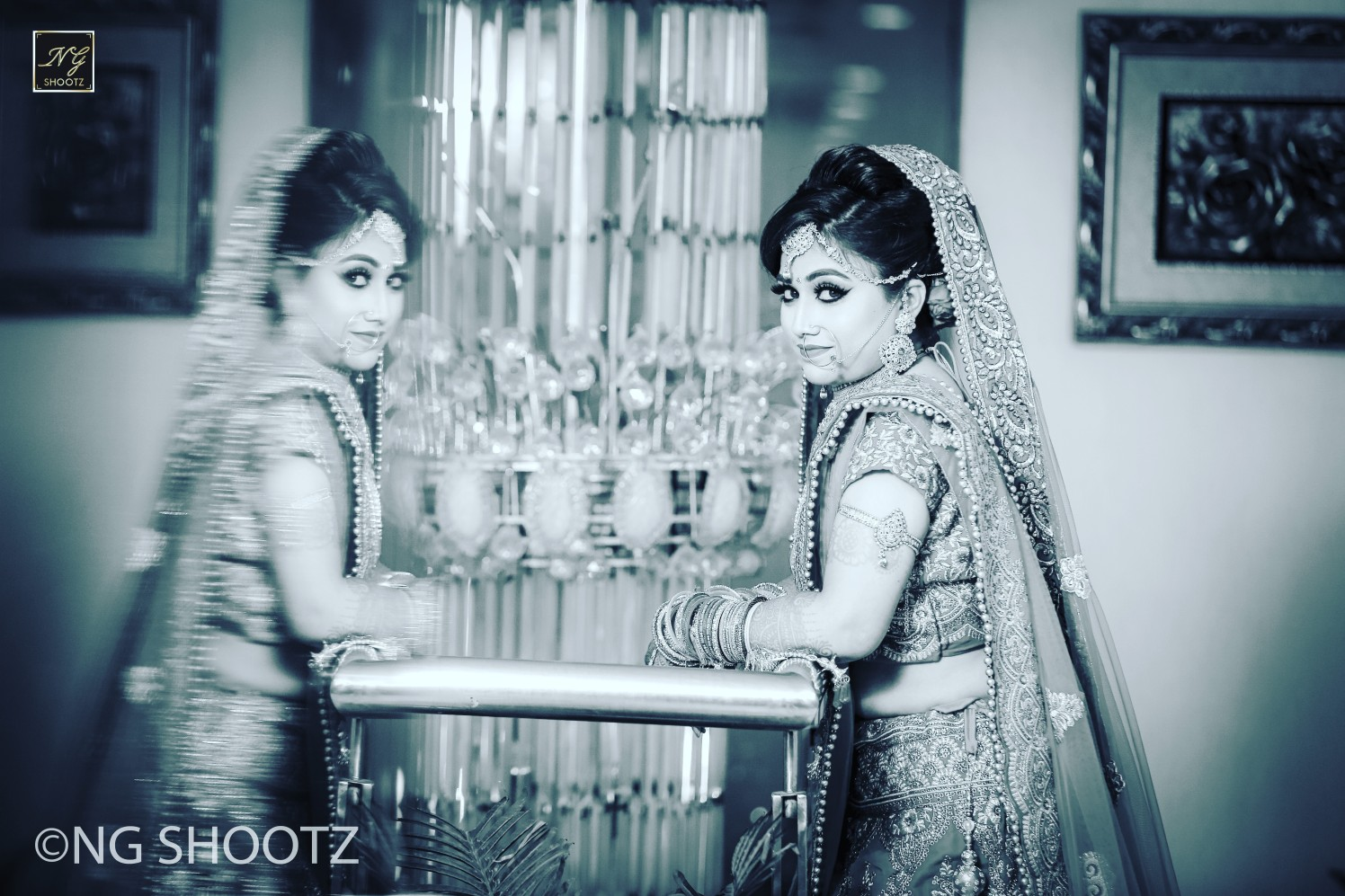 The bride with a stellar pose by NG Shootz Wedding-photography | Weddings Photos & Ideas