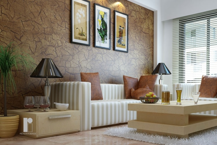 Modern living room by Render Image Living-room Modern | Interior Design Photos & Ideas