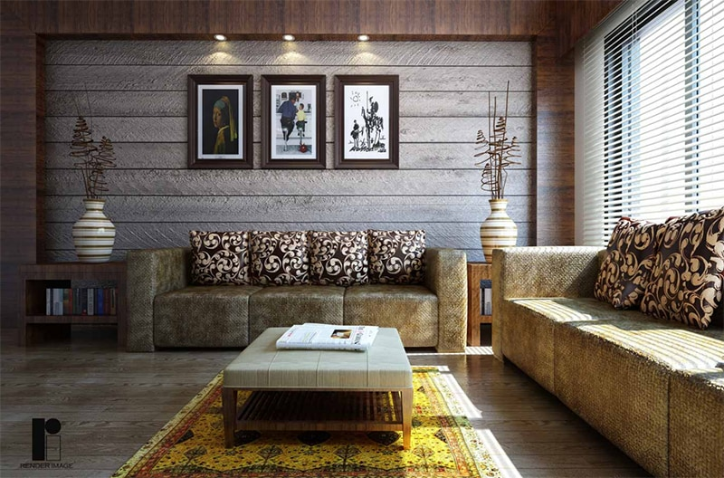Contemporary living room by Render Image Living-room Contemporary | Interior Design Photos & Ideas