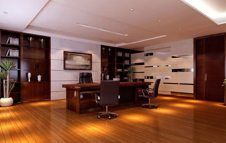 3D design for office space by Real Paradise Group Contemporary | Interior Design Photos & Ideas