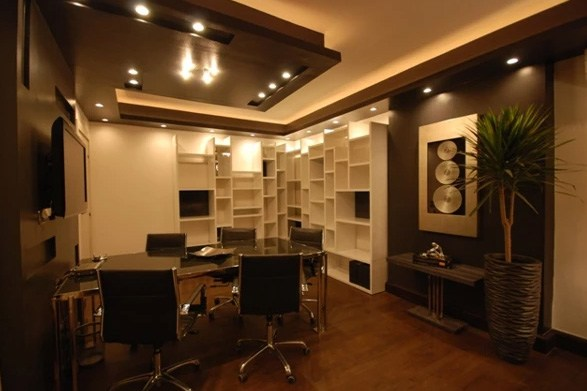 Beautiful and creative design for office space by Real Paradise Group Contemporary | Interior Design Photos & Ideas