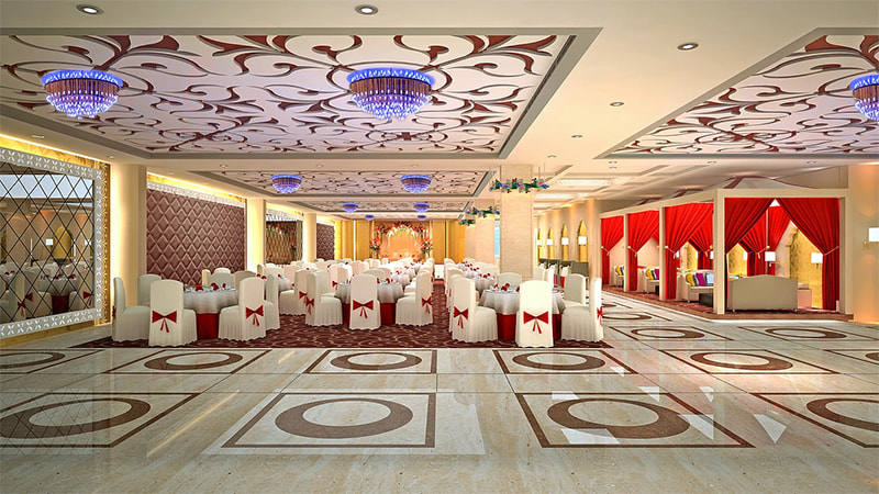 Exuberant design for a restaurant by Real Paradise Group Contemporary | Interior Design Photos & Ideas