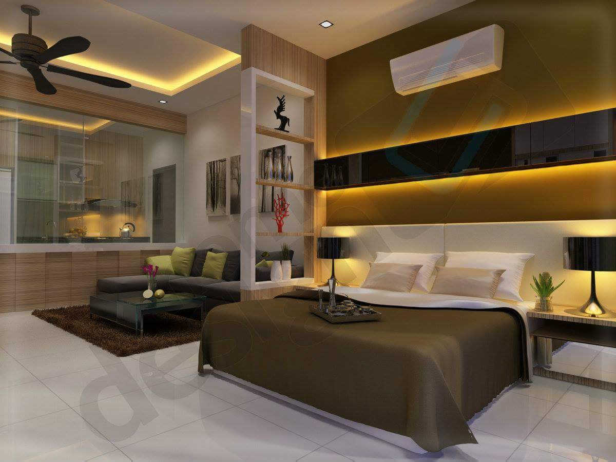Extravagant design for master bedroom by Real Paradise Group Bedroom Contemporary | Interior Design Photos & Ideas