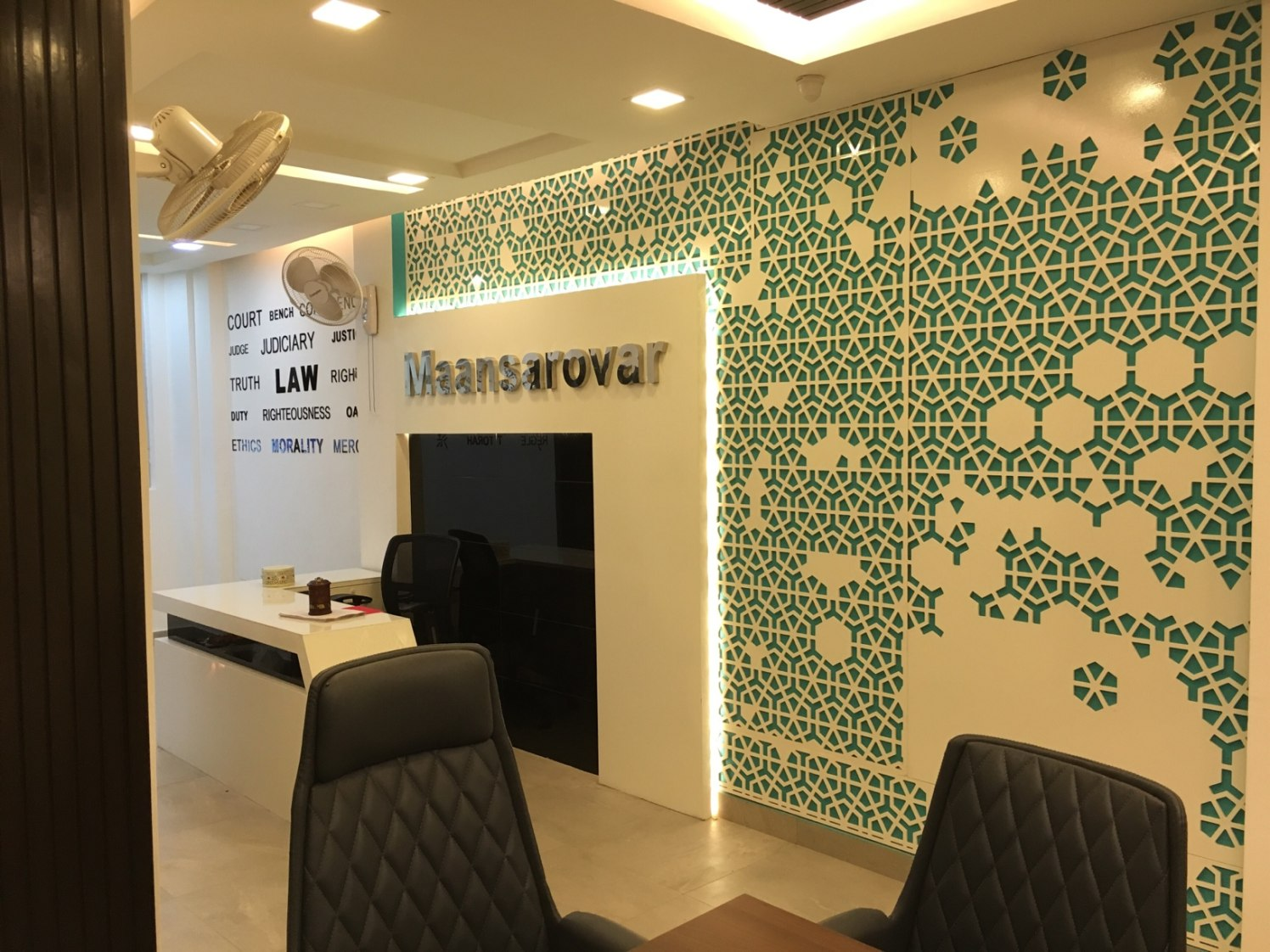 Mansarovar Law Office by Men at work Modern | Interior Design Photos & Ideas