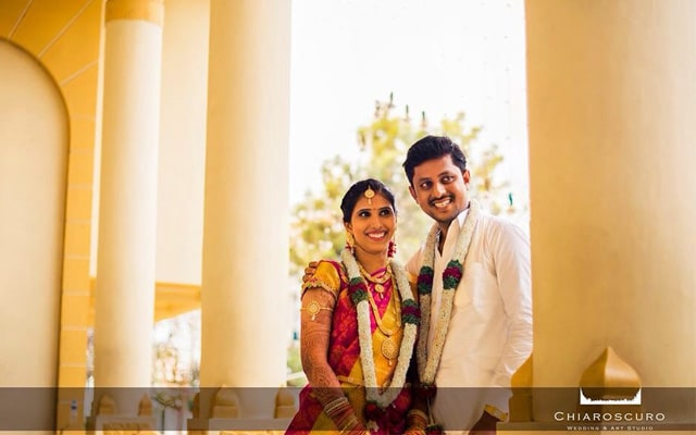 The couple with bright smiles by Chiaroscuro Wedding and Art Studio Wedding-photography | Weddings Photos & Ideas