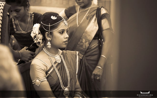 An amazing black and white portrait of the bride by Chiaroscuro Wedding and Art Studio Wedding-photography | Weddings Photos & Ideas