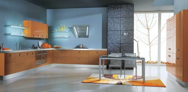 Modular L shaped kitchen by Noah Interiors  Modular-kitchen Modern | Interior Design Photos & Ideas