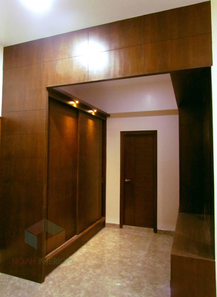 marble floored hallway by Noah Interiors  Indoor-spaces Contemporary | Interior Design Photos & Ideas