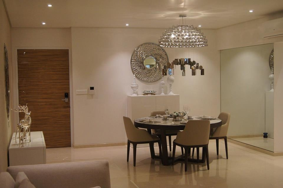 Contemporary Dining Room. by Acmeview Interior Solutions Pvt. Ltd. Dining-room Contemporary | Interior Design Photos & Ideas