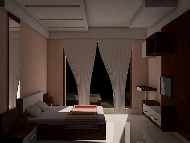 Contemporary bedroom interior by Supertech Enterprises Bedroom Contemporary | Interior Design Photos & Ideas