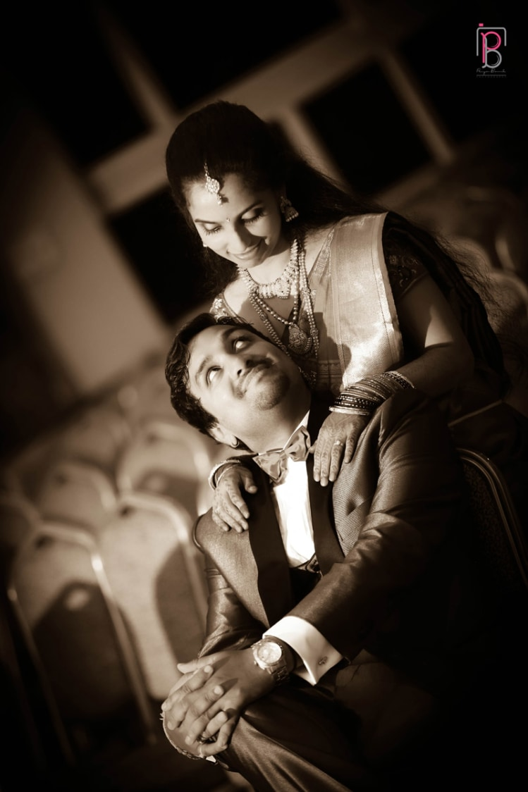 Romantic Bride and Groom Pose by Priya Banik Photography Wedding-photography | Weddings Photos & Ideas