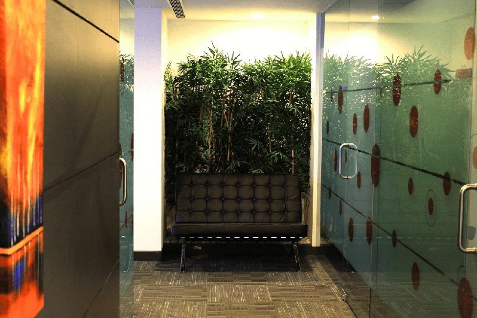 Office Hallway by Vencom Interiors | Interior Design Photos & Ideas