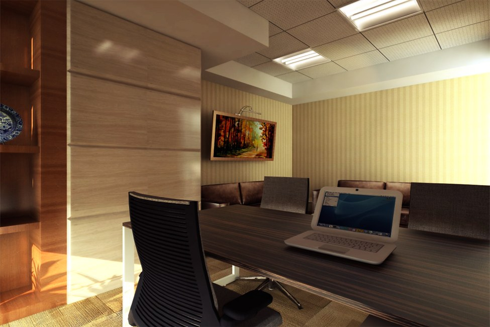 Small Meeting Room by Vencom Interiors | Interior Design Photos & Ideas
