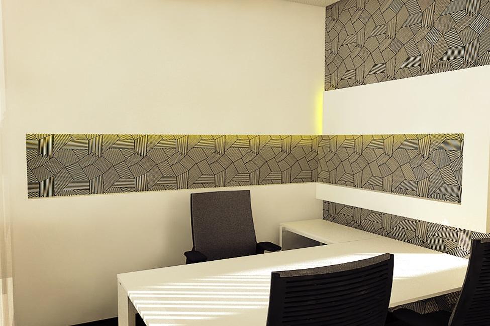 Meeting Room by Vencom Interiors | Interior Design Photos & Ideas