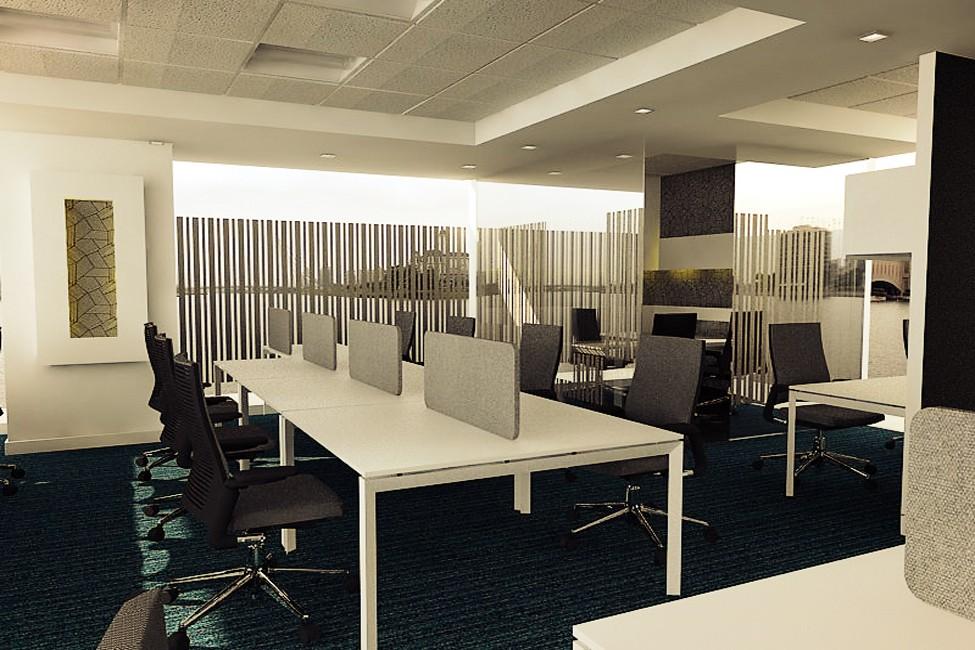 Cellular Workstation by Vencom Interiors | Interior Design Photos & Ideas