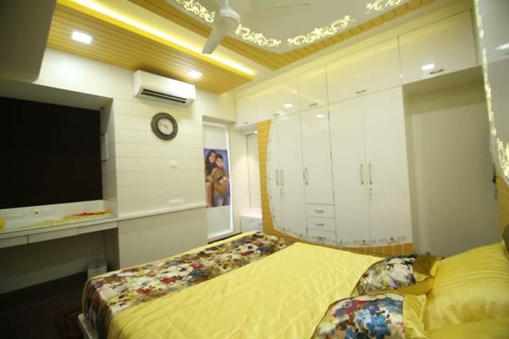 Simple bedroom. by 9820727889 Bedroom Modern | Interior Design Photos & Ideas