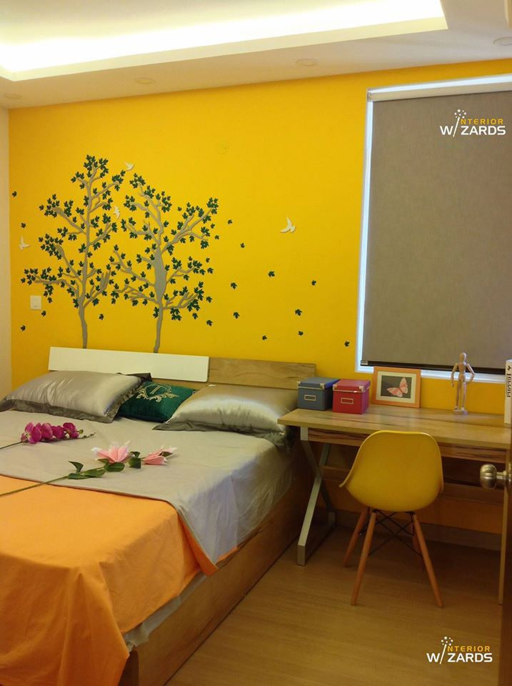 Joyful Colors by Aerwud Interiors Pvt. Ltd Contemporary | Interior Design Photos & Ideas