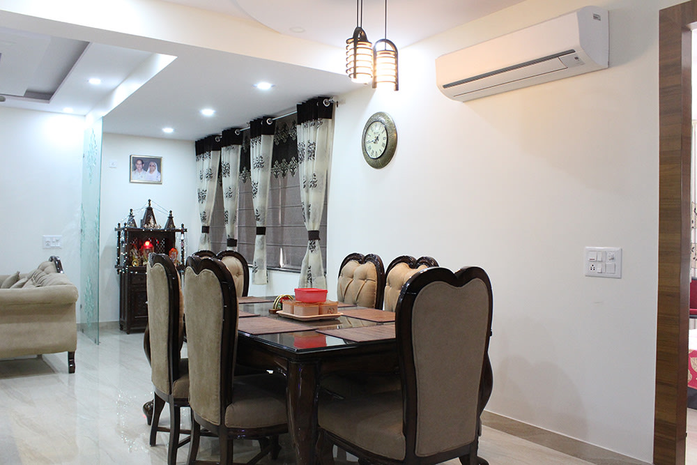 Dine in Comfort by Aerwud Interiors Pvt. Ltd Contemporary | Interior Design Photos & Ideas