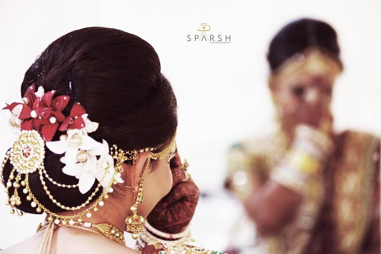 Floral coiffure by Sparsh Photography  Wedding-photography | Weddings Photos & Ideas