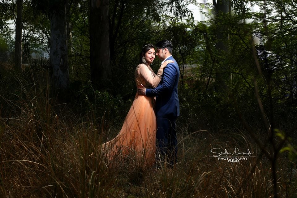 A Passionate Pre-Wedding Shoot In Wild Grass Location by Sourab Sharma Wedding-photography | Weddings Photos & Ideas