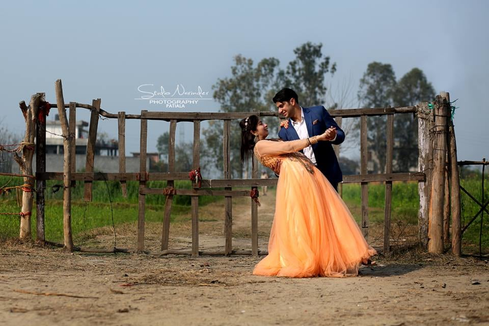 The Bollywood Style Pre-Weding Shoot In Fields by Sourab Sharma Wedding-photography | Weddings Photos & Ideas