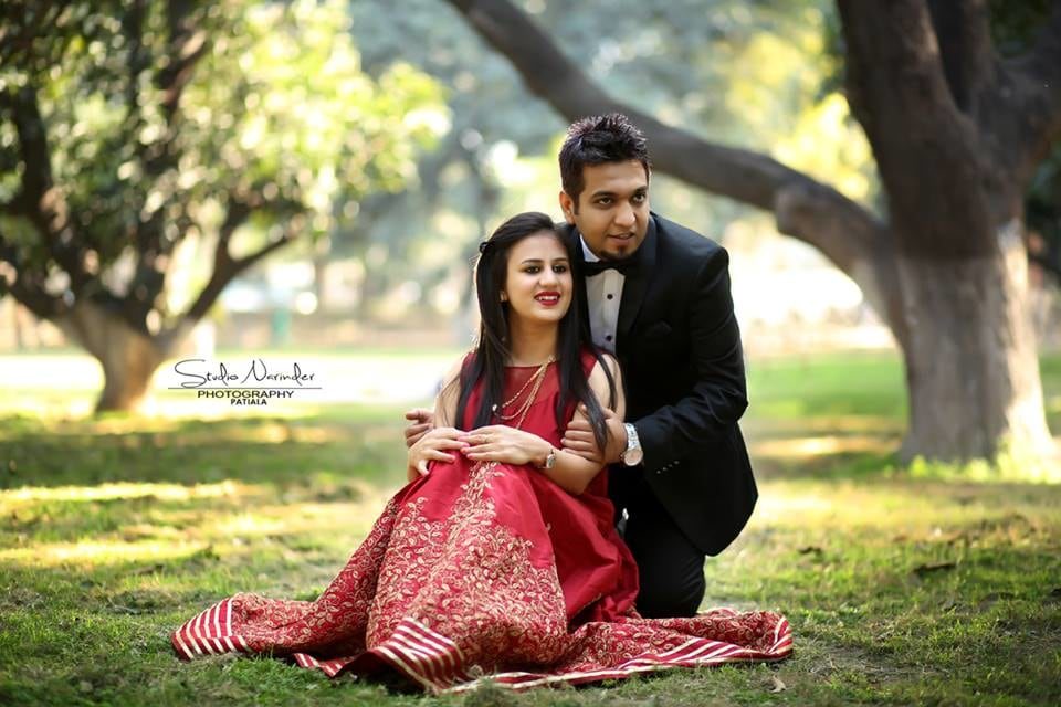 Nature Themed Pre Weding Shoot In A Lush Green Garden by Sourab Sharma Wedding-photography | Weddings Photos & Ideas