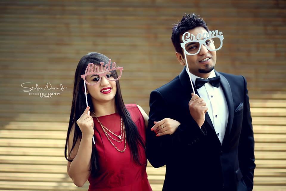 Funky Bridegroom Props For A Pre-Wedding Shoot by Sourab Sharma Wedding-photography | Weddings Photos & Ideas