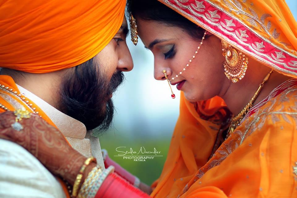 A Romantic Close Shot Of Sikh Bridegroom On Pre-Wedding Shoot by Sourab Sharma Wedding-photography | Weddings Photos & Ideas