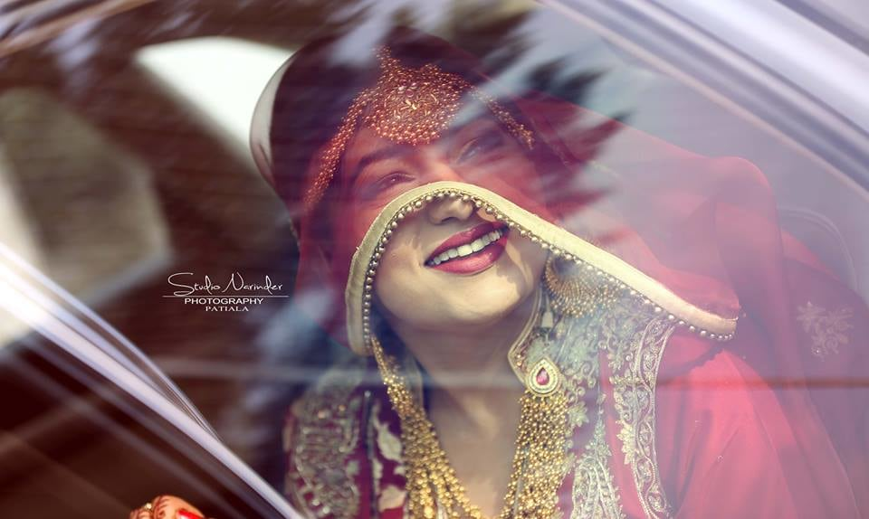 Spectacular Shot Bride Under The Veil by Sourab Sharma Wedding-photography | Weddings Photos & Ideas