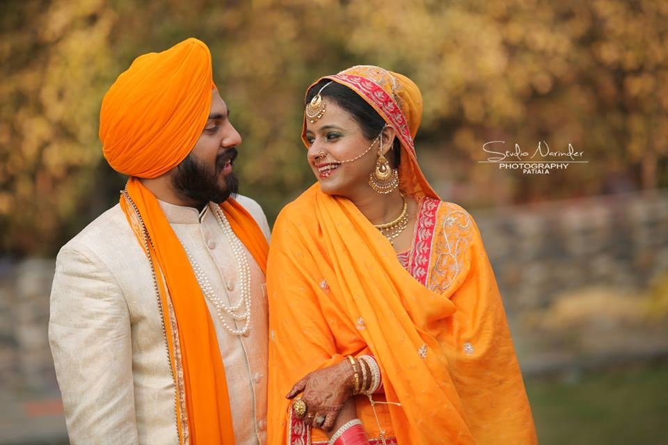 Turmeric Yellow Suit With Subtle Red Borders Matching Perfectly Groom's Turban  And Stole For A The D-Day by Sourab Sharma Wedding-photography | Weddings Photos & Ideas