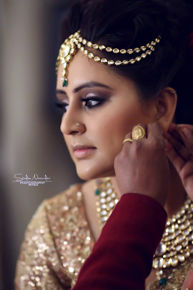Side Shot Of A Bride Getting Ready by Sourab Sharma Wedding-photography | Weddings Photos & Ideas