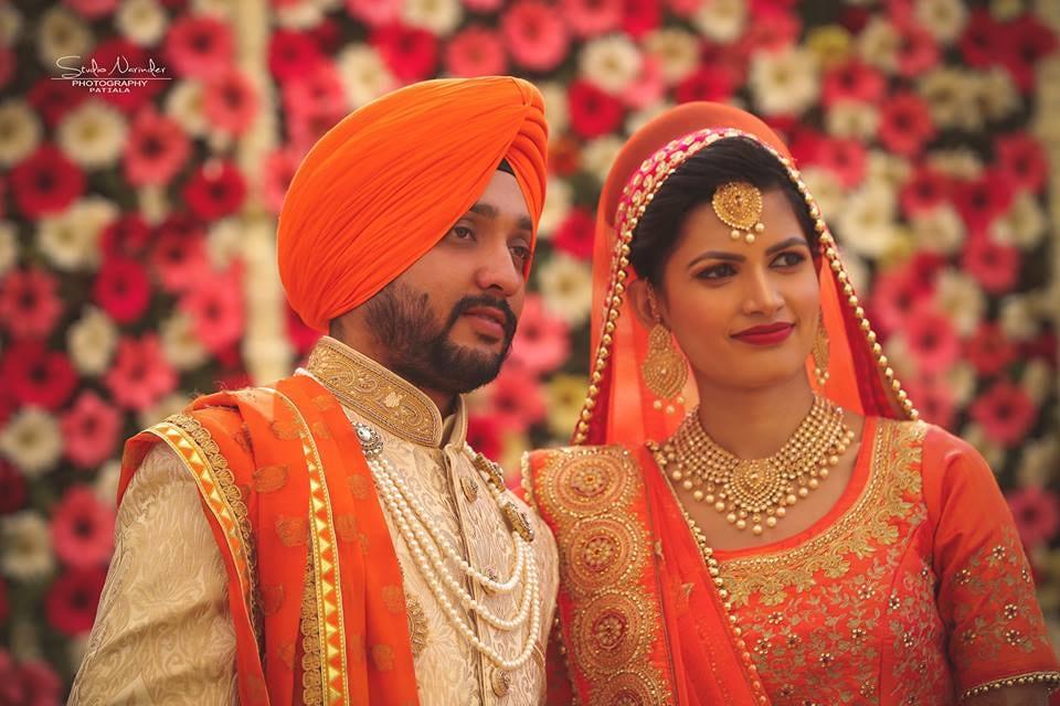Golden High-Collared Sherwani With Citrus Orange Turban by Sourab Sharma Wedding-photography Groom-wear-and-accessories | Weddings Photos & Ideas