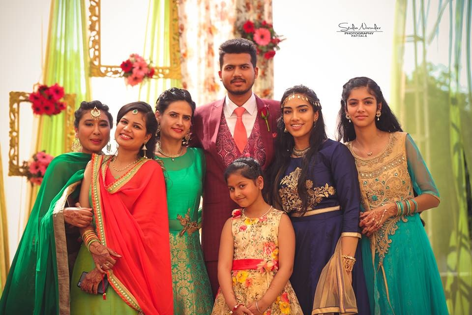 Traditional Family Picture With The Groom by Sourab Sharma Wedding-photography | Weddings Photos & Ideas