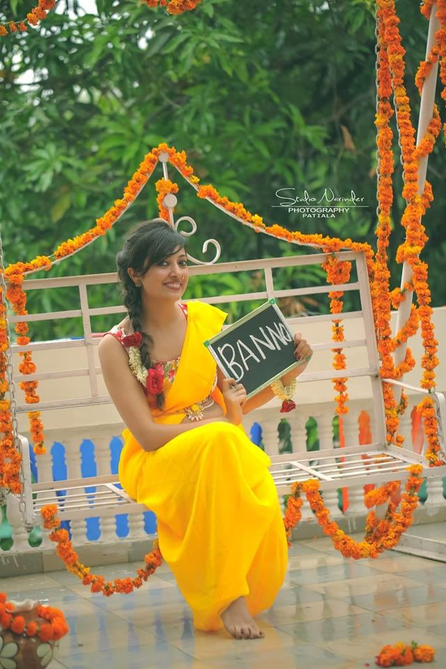Quirky Haldi Photography With Funny Text Boards by Sourab Sharma Wedding-photography | Weddings Photos & Ideas