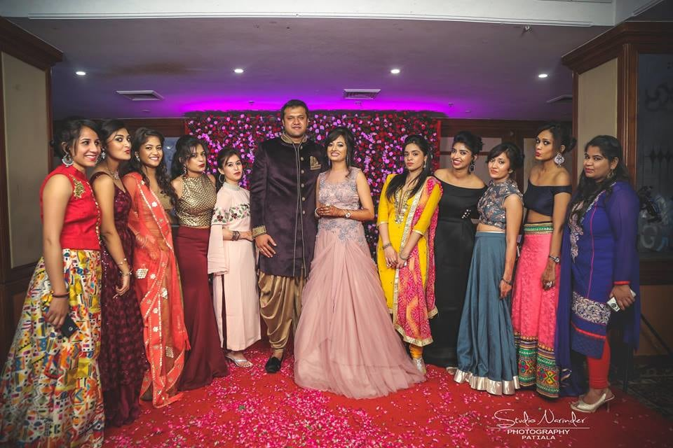 A Traditional Bridegroom Shot With The Big Fat Family Guests by Sourab Sharma Wedding-photography | Weddings Photos & Ideas
