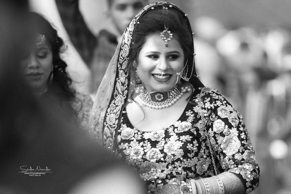 Black And White Shot Of Enchanting Bride by Sourab Sharma Wedding-photography | Weddings Photos & Ideas