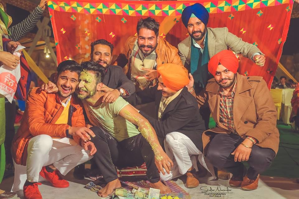 Haldi shot !! by Studio Narinder Photography Wedding-photography | Weddings Photos & Ideas