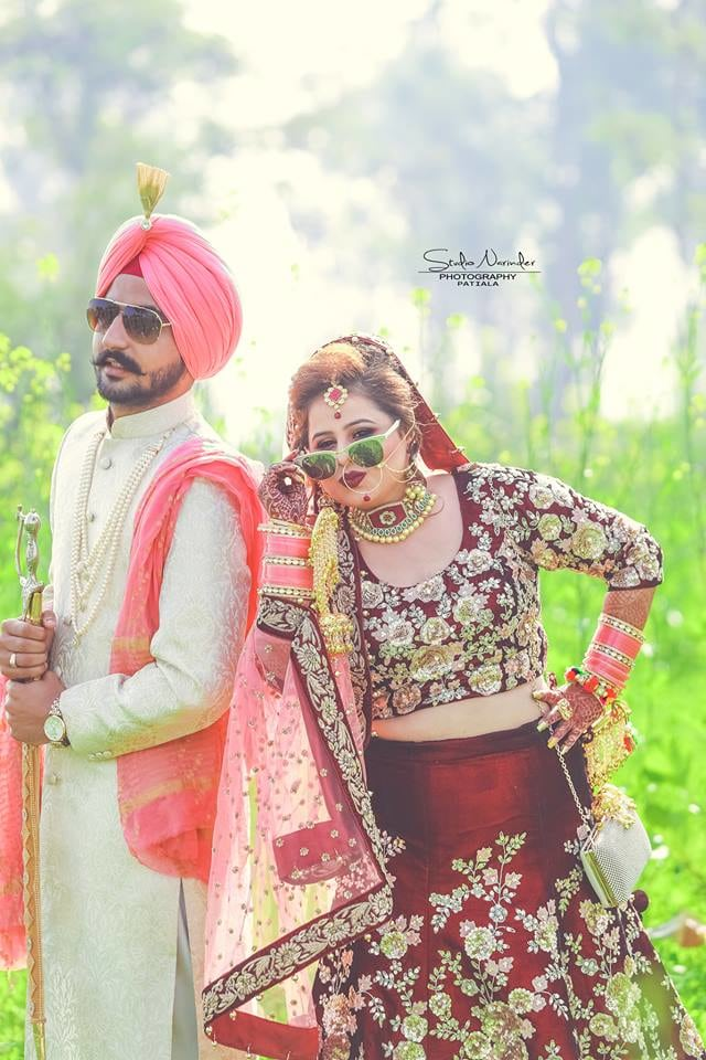 Stylish Bridegroom Striking Pose In Sarso Field For Wedding Shoot by Sourab Sharma Wedding-photography | Weddings Photos & Ideas