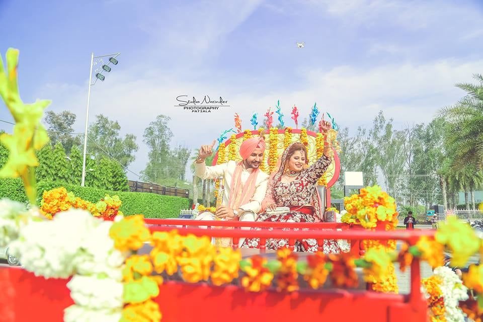 Floral Decorated Chariot For Bridegroom by Sourab Sharma Wedding-photography | Weddings Photos & Ideas