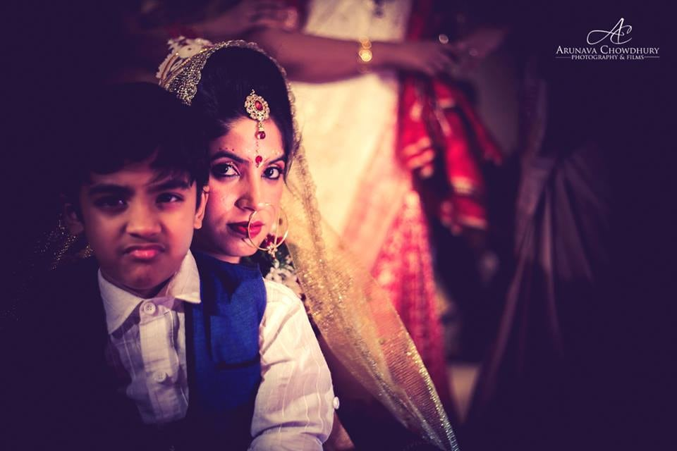 That Intense Look Of Bride by Arunava Chowdhury Photography and Films Wedding-photography | Weddings Photos & Ideas