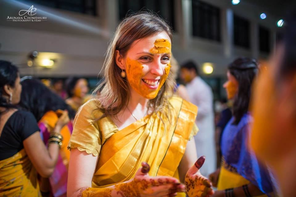 The Haldi Ceremony by Arunava Chowdhury Photography and Films Wedding-photography | Weddings Photos & Ideas