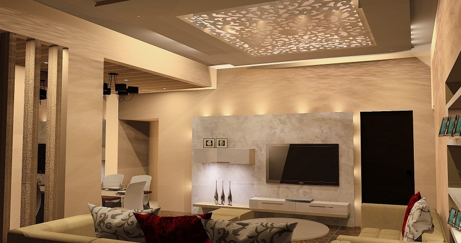 Fancy Living by S2 Interior Space and Scale Contemporary | Interior Design Photos & Ideas