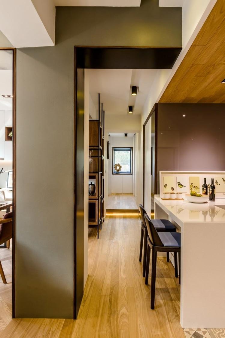 Modern bar area by design101 Indoor-spaces Modern   Interior Design Photos & Ideas