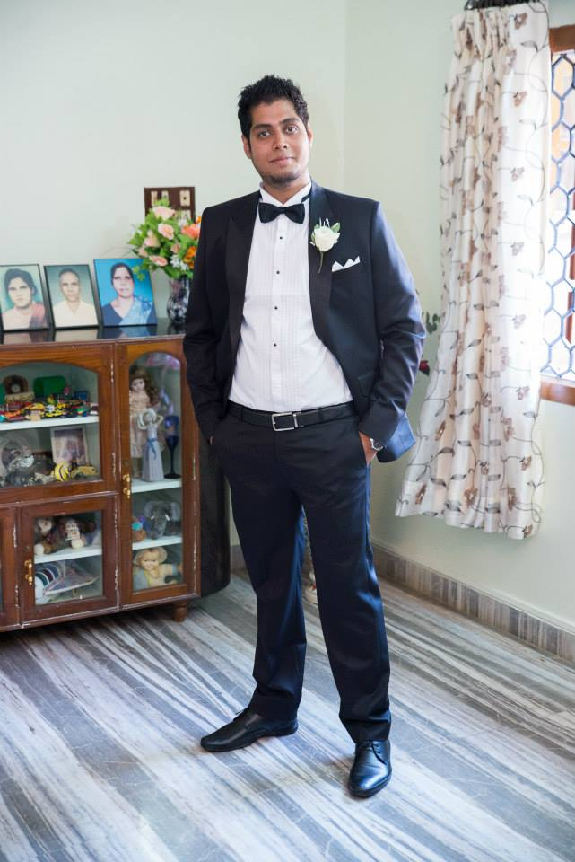 Black Tuxedo With Black Pants And Shoes For A Gentlemen Look by Terence Savio Pimenta Groom-wear-and-accessories | Weddings Photos & Ideas