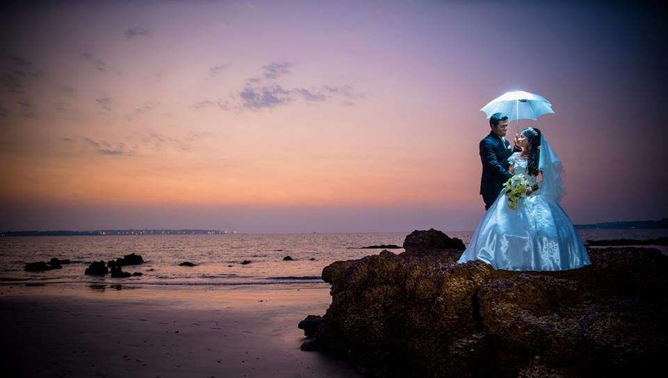 A Fairy Wedding Photoshoot On The Beach Side by Terence Savio Pimenta Wedding-photography | Weddings Photos & Ideas